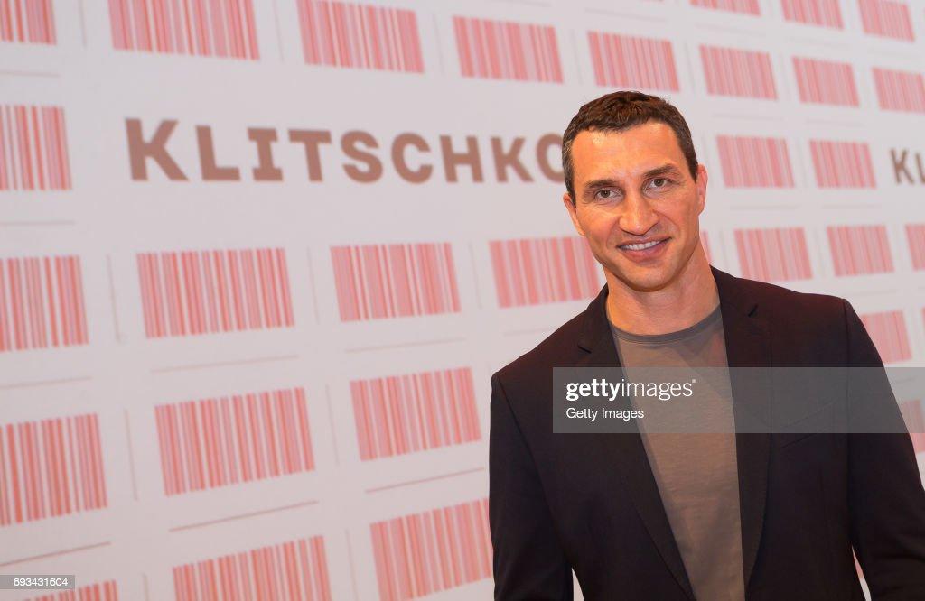 Wladimir Klitschko Launch Event : News Photo