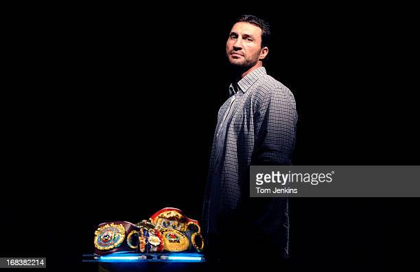 Wladimir Klitschko World Heavyweight boxing champion poses for a portrait at the Sky Sports TV studios on May 11 2011 in Isleworth Middlesex