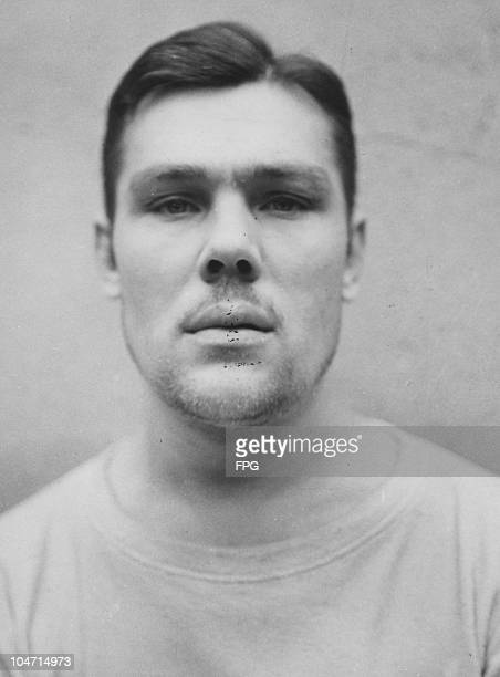 Wladislaw Ostrewski a guard at the BergenBelsen concentration camp Germany circa 1945 Charged with war crimes and crimes against humanity Ostrewski...