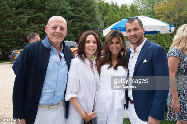 Woelfer Yardeni Sheri Yardeni Jessica Guetta and Ronan Guetta attend Hamptons Magazine Celebration with cover star Bubba Watson on June 10 2018 in...