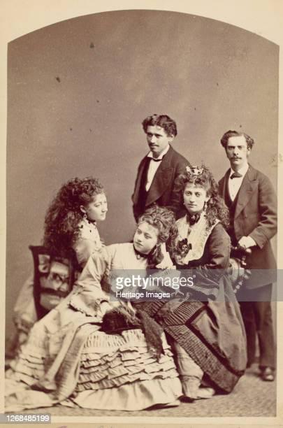 Wohes Family, New York, 1870s. Artist Jeremiah Gurney.