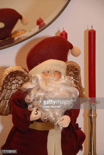 Wohnung von Heide Keller Homestory Bad Godesberg / Bonn NordrheinWestfalen Deutschland Europa Weihnachten Weihnachtsmann Schauspielerin