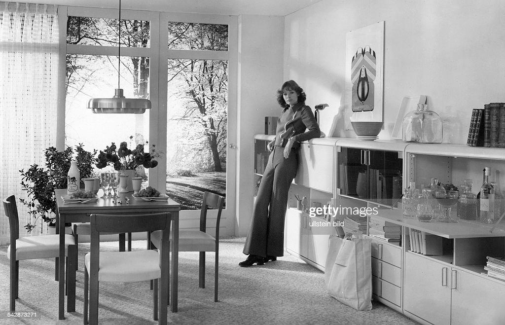Wohnzimmereinrichtung Von Hulsta Programm Roundline 1970er Jahre