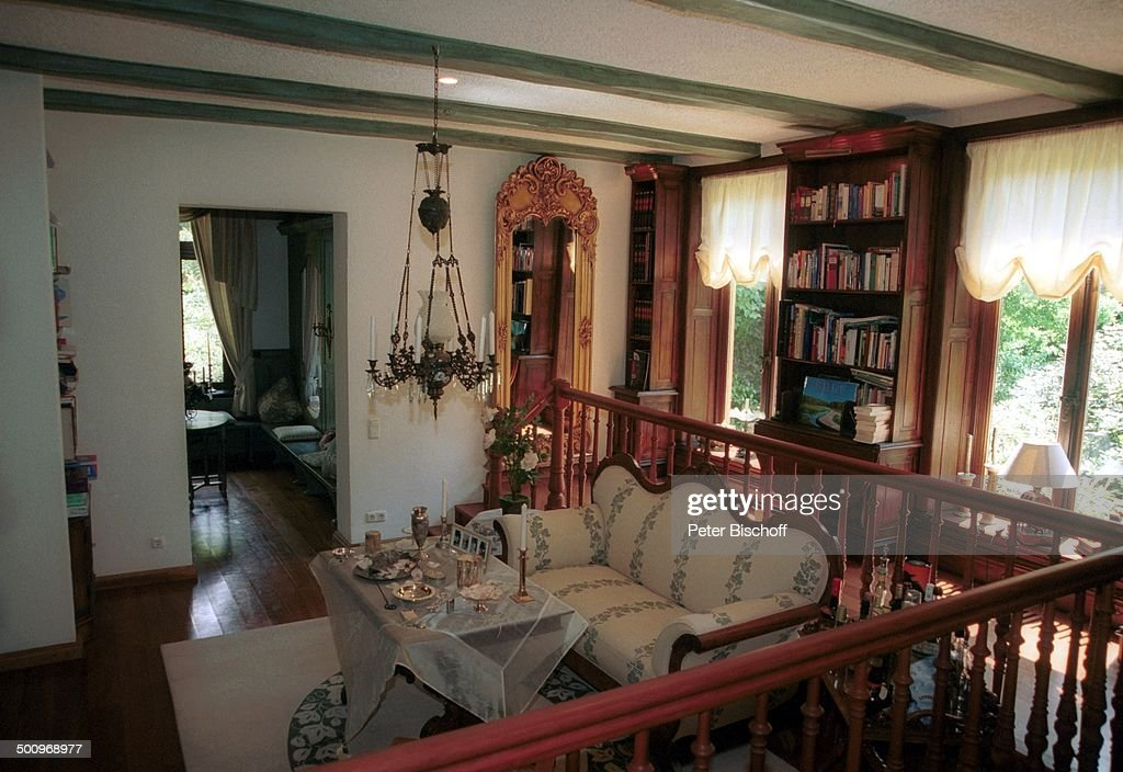 Wohnzimmer/Esszimmer, Anwesen von Rudi Carrell, , Homestory ...