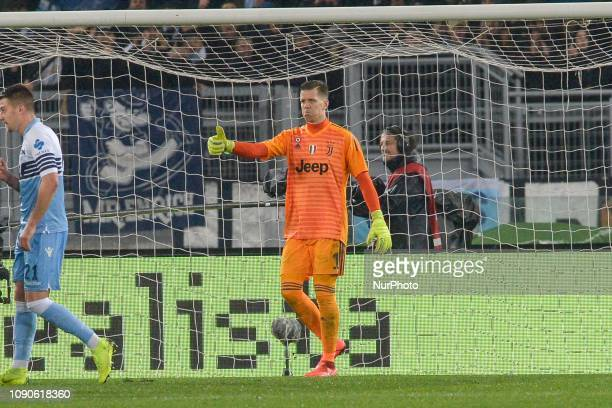 Wojciech Szczesny during the Italian Serie A football match between SS Lazio and FC Juventus at the Olympic Stadium in Rome on january 27 2019