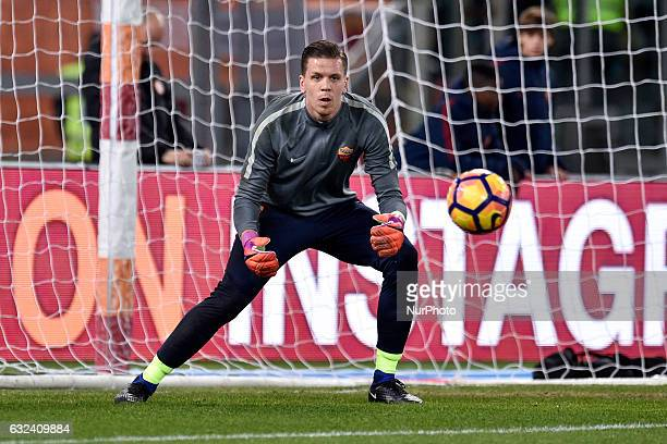 Wojciech Szczesny of AS Roma during the Serie A match between Roma and Cagliari at Stadio Olimpico Rome Italy on 22 January 2017 Photo by Giuseppe...
