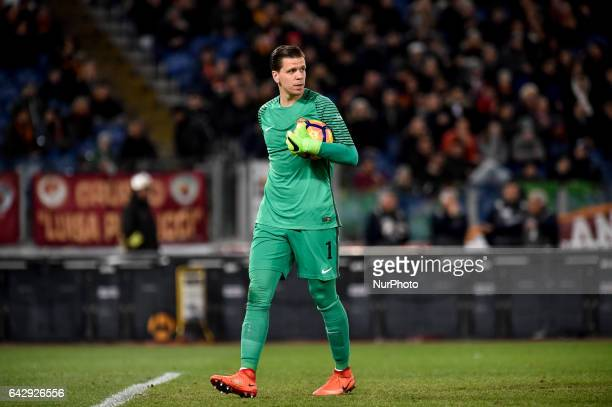 Wojciech Szczesny of AS Roma during the Serie A match between Roma and Torino at Stadio Olimpico Rome Italy on 19 February 2017 Photo by Giuseppe...