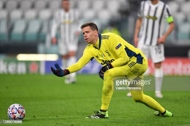Wojciech Szczesny of Juventus during the UEFA Champions League Group G stage match between Juventus and Dynamo Kyiv at Allianz Stadium on December...