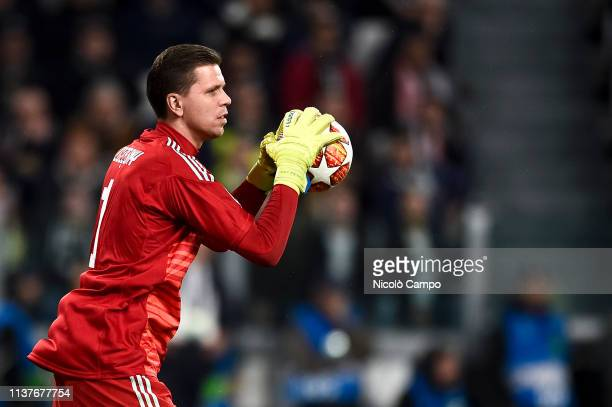 Wojciech Szczesny of Juventus FC in action during the UEFA Champions League Quarter Final second leg football match between Juventus FC and Ajax...