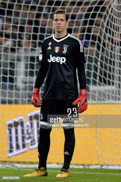 Wojciech Szczesny of Juventus looks on during the Serie A match between Juventus and Spal on October 25 2017 in Turin Italy