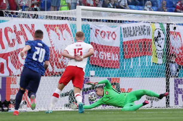 RUS: Poland v Slovakia - UEFA Euro 2020: Group E