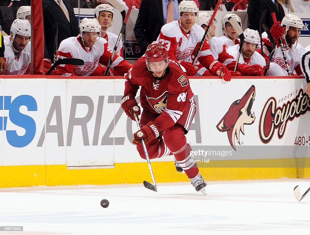 Detroit Red Wings v Phoenix Coyotes - Game Five