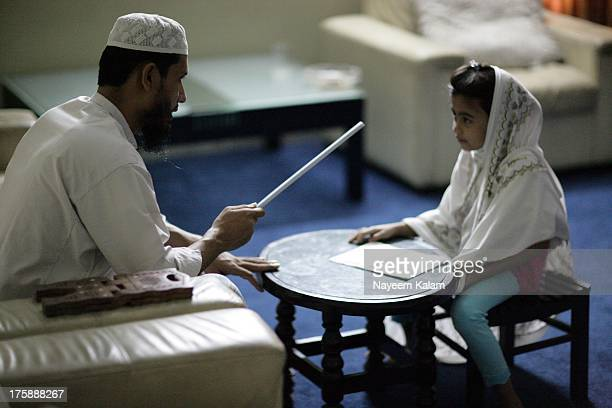 Woke up in the morning and suddenly heard that my daughter is in the living room with the moulana giving her islamic lessons again, i went to have a...
