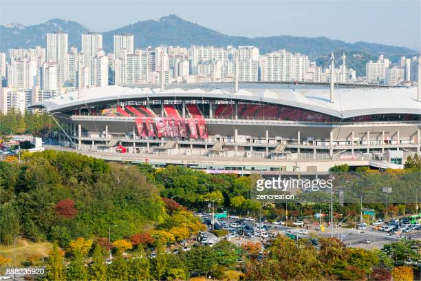 woldcup stadium - international soccer event stock pictures, royalty-free photos & images