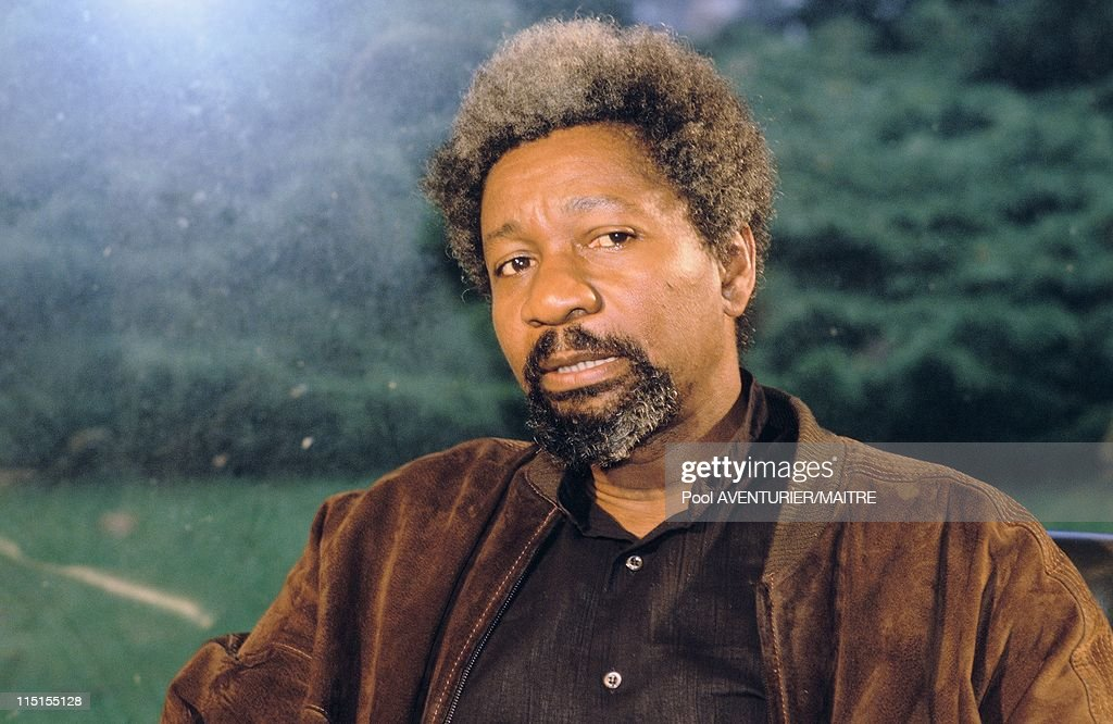 Wole Soyinka, Nobel Prize Of Literature In France On October 16, 1986. : News Photo
