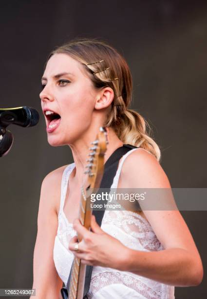 Wolf Alice performing live on the Obelisk Stage at Latitude Festival 2018.