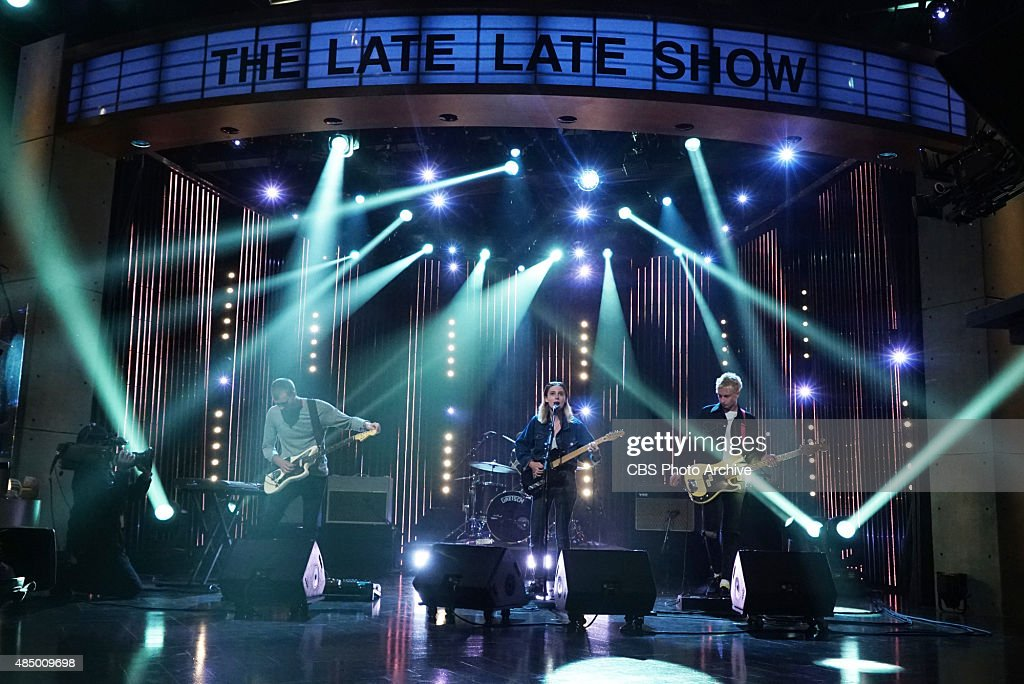 Wolf Alice performs on 'The Late Late Show with James Corden,' Monday, August 10, 2015 on The CBS Television Network.