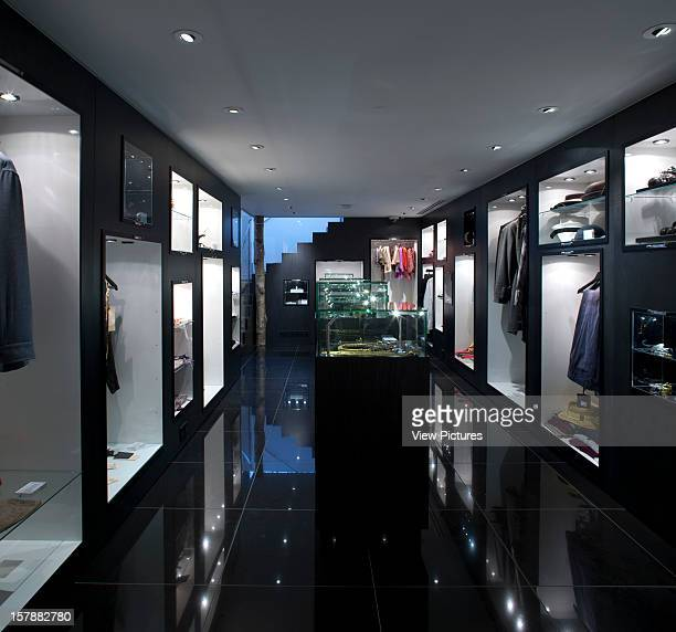 Wolf Badger Fashion Boutique 46 Ledbury Road Notting Hill London W11 2Ab A Square View Of The Lower Ground Floor Showing Exhibiting Boxesunknown...