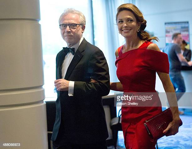 Wolf Blitzer and Diane Lane arrive at the 100th Annual White House Correspondents' Association Dinner at the Washington Hilton on May 3 in Washington...