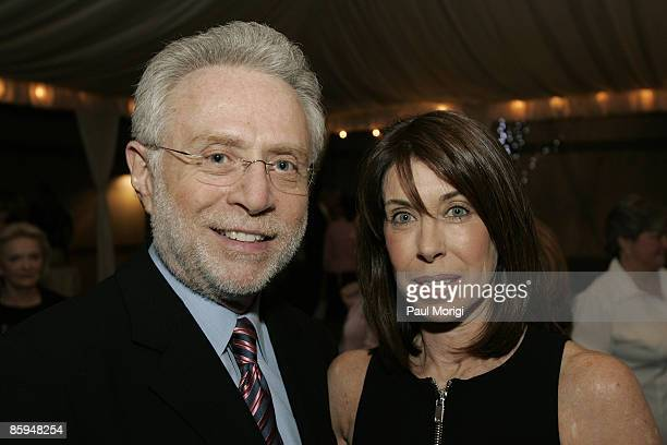 Wolf Blitzer and Lynn Blitzer at the grand opening of The Collection at Chevy Chase hosted by Capitol File Magazine