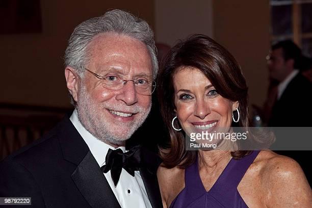 Wolf Blitzer and Lynn Blitzer attend Jason Binn's Niche Media's WHCAD after party with Bing at the Renaissance Washington DC Hotel on May 1 2010 in...