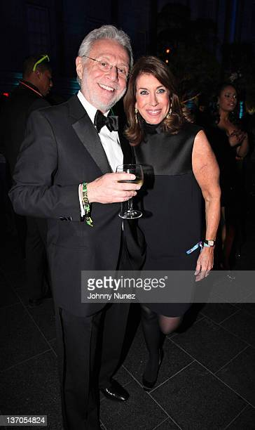 Wolf Blitzer and Lynn Blitzer attend the after party for BET Honors 2012 at the Smithsonian American Art Museum National Portrait Gallery on January...