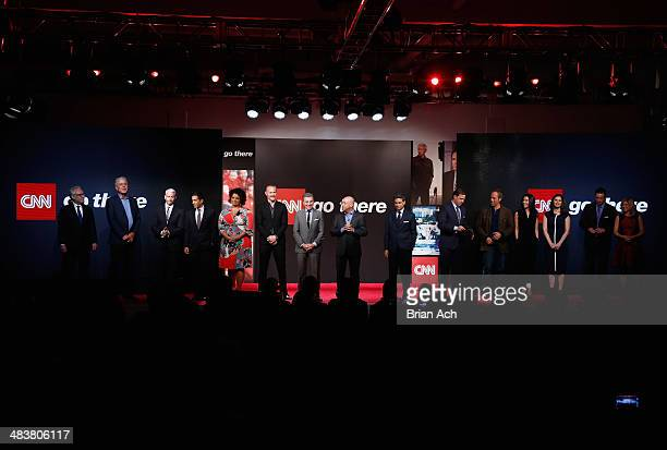 Wolf Blitzer, Anthony Bourdain; Anderson Cooper, Dr. Sanjay Gupta, Michaela Pereira, Morgan Spurlock, John Walsh, Jeff Zucker, Fareed Zakaria, Jake...