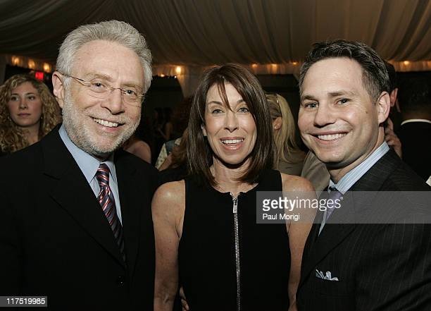 Wolf Blitzer Lynn Blitzer and Capitol File Magazine CEO and Chairman Jason Binn at the grand opening of The Collection at Chevy Chase hosted by...