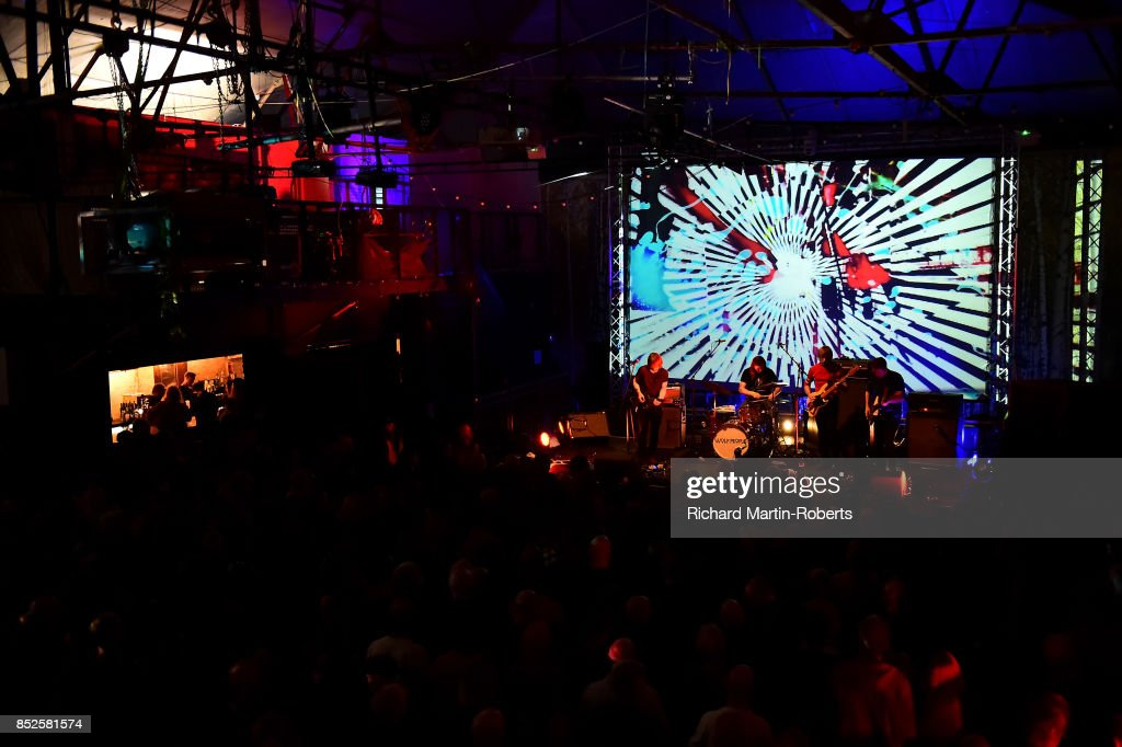 Wolf People perform on stage during the Liverpool International Festival of Psychedelia on September 23, 2017 in Liverpool, England.