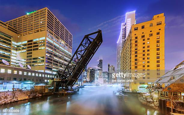 Wolf Point, Chicago, Illinois, America