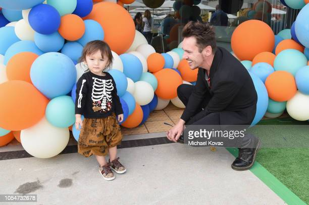 Wolf Rhys Meyers and Jonathan Rhys Meyers attend The Elizabeth Glaser Pediatric AIDS Foundation's Annual 'A Time For Heroes' Family Festival at...