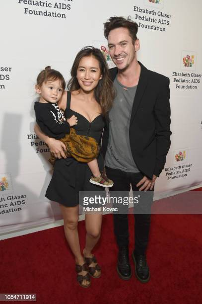Wolf Rhys Meyers Mara Lane and Jonathan Rhys Meyers attend The Elizabeth Glaser Pediatric AIDS Foundation's Annual 'A Time For Heroes' Family...