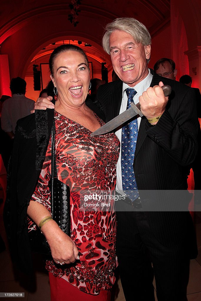 Wolf-Dieter Ring and his wife Silvia attend the Shocking Shorts Award at Galerie der Kuenstler on July 2, 2013 in Munich, Germany.