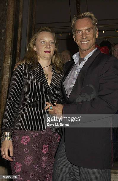 Wolfgan Joop attends a private view for new Art Deco Icon exhibition by Russian artist Tamara de Lempicka at The Royal Academy on May 11 2004 in...