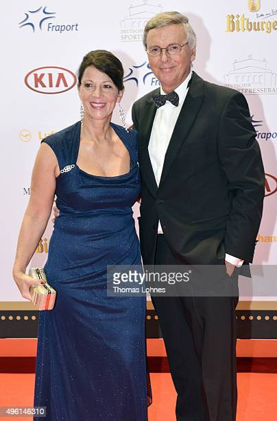 Wolfgang and Sabine Bosbach attend the German Sports Media Ball at Alte Oper on November 7 2015 in Frankfurt am Main Germany