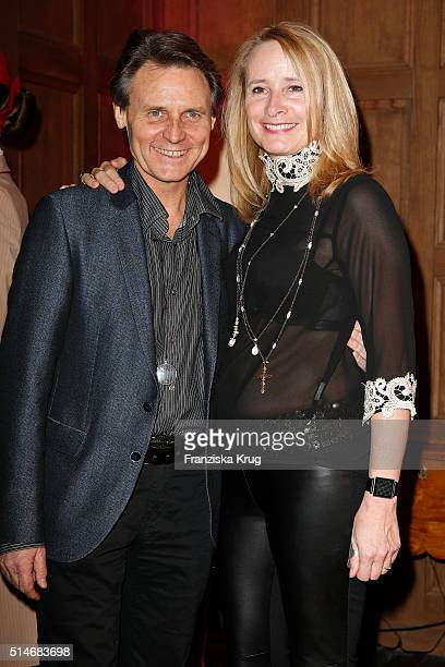 Wolfgang Bahro and Barbara Bahro attend the JT Touristik Celebrates ITB Party on March 10 2016 in Berlin Germany