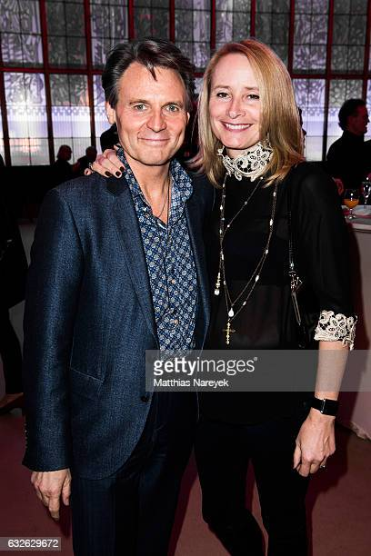Wolfgang Bahro and Barbara Bahro the BZ Kulturpreis 2017 at Staatsopeattend r im Schiller Theater on January 24 2017 in Berlin Germany