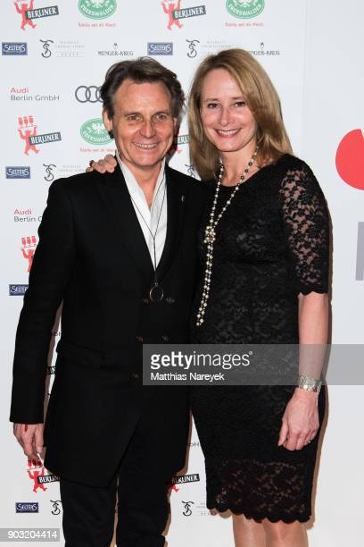 Wolfgang Bahro and his wife Barbara attend the BZ Kulturpreis 2018 at Staatsoper im Schiller Theater on January 9 2018 in Berlin Germany