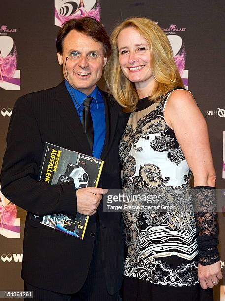 Wolfgang Bahro and his wife Barbara attend the 'Show Me' premiere at Friedrichstadtpalast on October 18 2012 in Berlin Germany