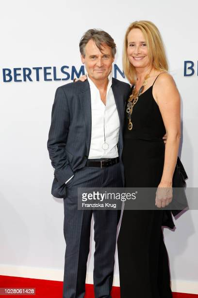 Wolfgang Bahro and his wife Barbara Bahro attend the Bertelsmann Summer Party at Bertelsmann Repraesentanz on September 6 2018 in Berlin Germany