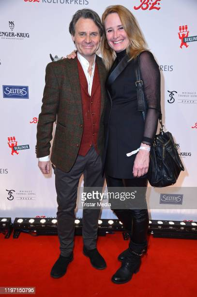 Wolfgang Bahro and his wife Barbara Bahro attend the BZ Kulturpreis award on January 28 2020 in Berlin Germany