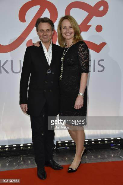 Wolfgang Bahro and his wife Barbara Bahro attend the BZ Kulturpreis 2018 at Staatsoper im Schiller Theater on January 9 2018 in Berlin Germany