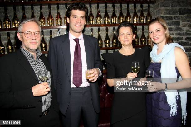 Wolfgang Billstein Alejandro Santo Domingo Maranne Billstein and guest attend Katarina Harf and DKMS Host Cocktail Reception in Anticipation of DKMS...