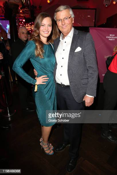 Wolfgang Bosbach and his daughter Viktoria Bosbach during the Lambertz Monday Night 2020 Wild Chocolate Party on February 3 2020 in Cologne Germany