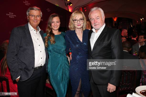 Wolfgang Bosbach and his daughter Viktoria Wolfgang Kubicki and his wife Annette Marberth Kubicki during the Lambertz Monday Night 2020 Wild...