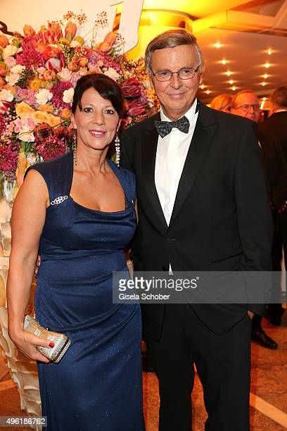 Wolfgang Bosbach and his wife Sabine Bosbach during the German Sports Media Ball at Alte Oper on November 7 2015 in Frankfurt am Main Germany