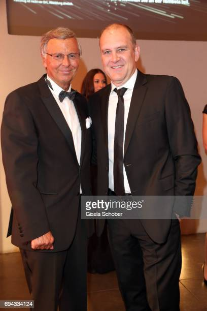 Wolfgang Bosbach and Joerg Schmadtke director 1 FC Koeln during the Toni Kroos charity gala benefit to the Toni Kroos Foundation at 'The Palladium'...