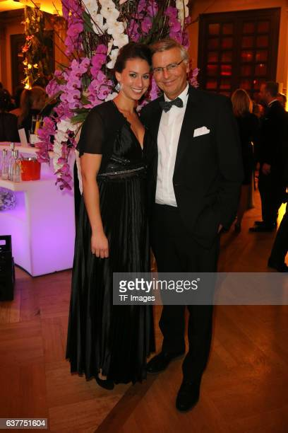 Wolfgang Bosbach and Tochter Viktoria attend the German Sports Media Ball at Alte Oper on November 05 2016 in Frankfurt am Main Germany