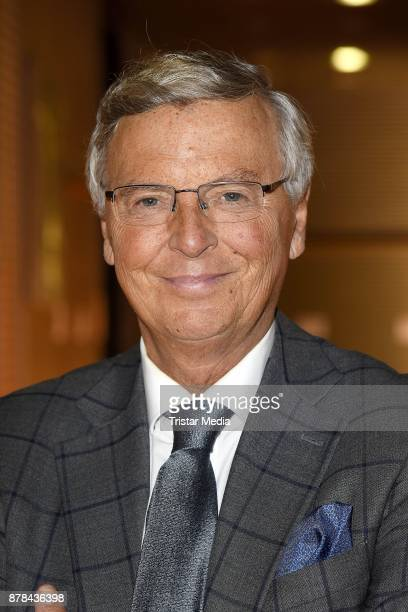 Wolfgang Bosbach attends the RTL Telethon 2017 on November 24 2017 in Huerth Germany
