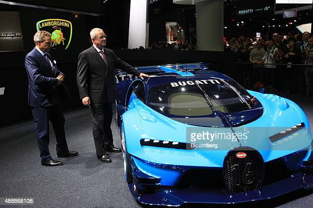 Wolfgang Duerheimer chief executive officer Bugatti Automobiles SAS left a luxury unit of Volkswagen AG and Martin Winterkorn chief executive officer...